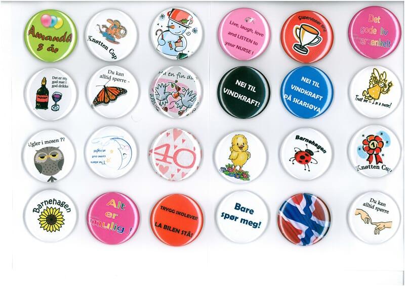 37c9182d Egen logo eller design på Buttons? - SABO